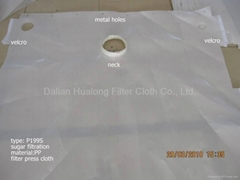 Press filter cloth