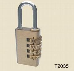 黃銅密碼鎖(T2035)