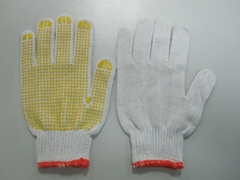 Cotton/knitted gloves