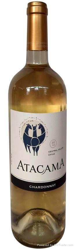 智利ATACAMA霞多麗干白葡萄酒 1