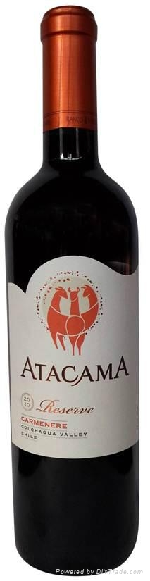 智利ATACAMA霞多麗干白葡萄酒 5