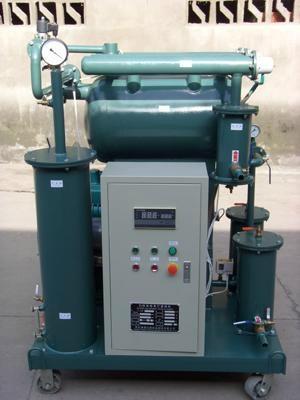single vacuum insulating oil purifier 4