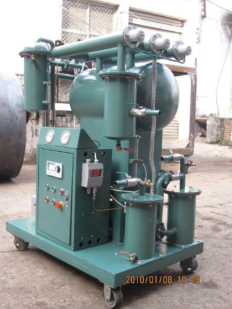 single vacuum insulating oil purifier 3