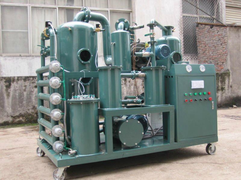 Double-Stage Vacuum Insulating Oil Purifier 4