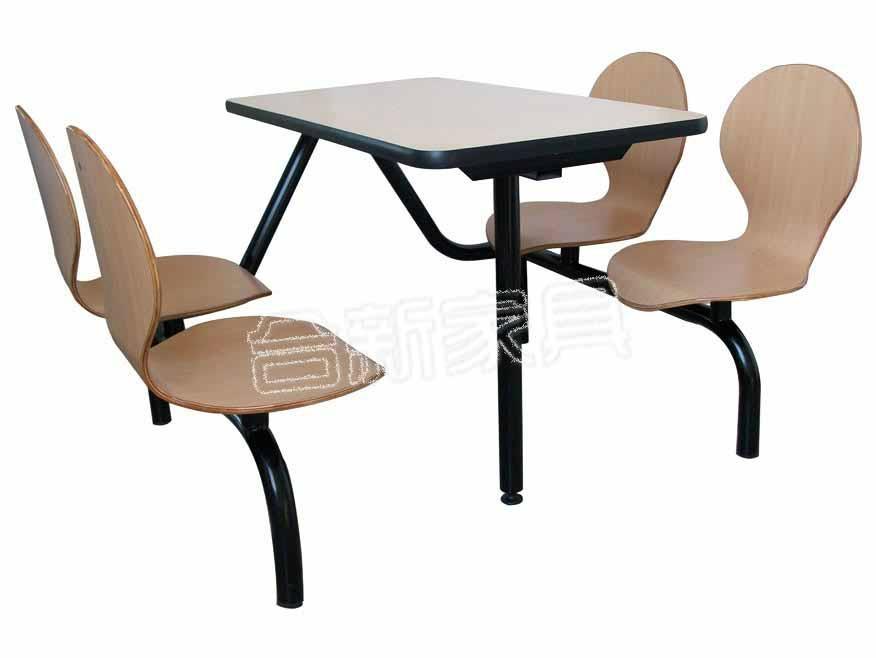 連體食堂桌椅 1