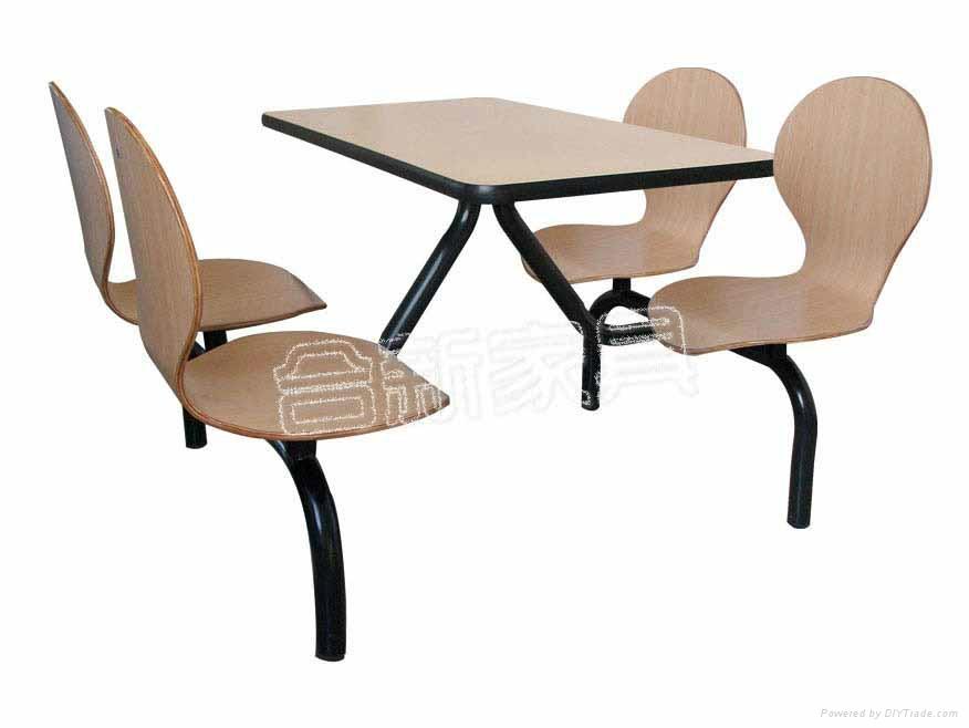 快餐店餐桌椅 1