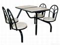 連體快餐桌椅