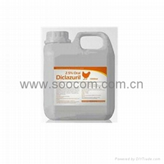 poultry coccidiosis medicine Diclazuril Solution
