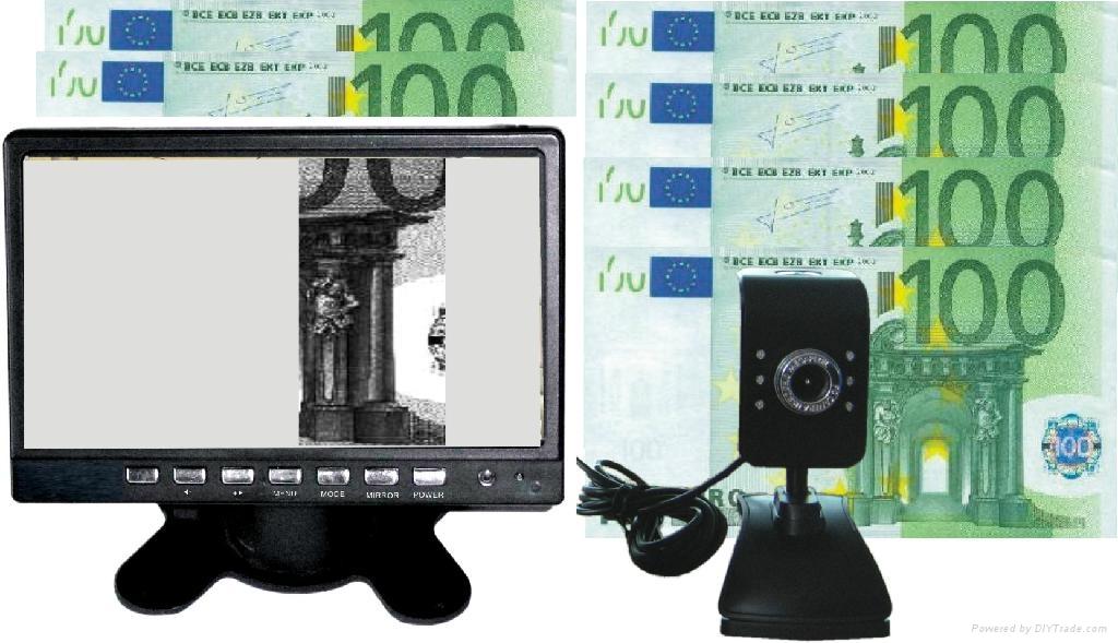 7-Inch TFT Digital Money Detector Currency Detector System (GW7001-8) 1