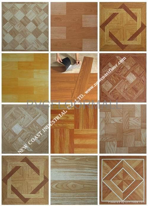 Self Stick Vinyl Floor Tiles Pvcfloor009 Oem China