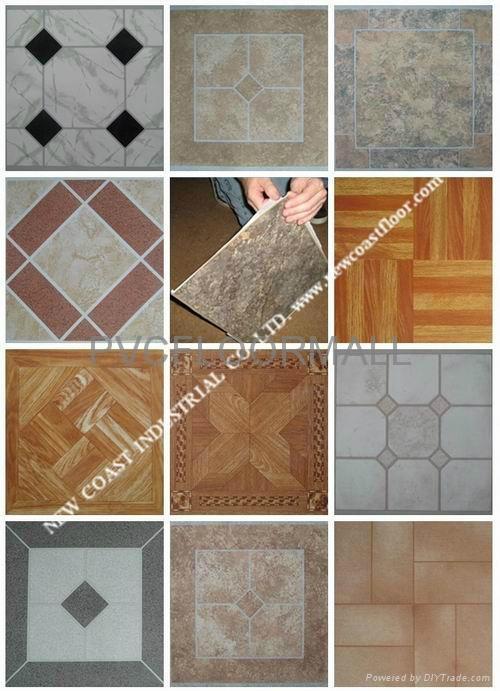 Self Adhesive Vinyl Floor Tile Pvcfloor002 OEM China