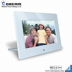 7inch digital photo frame with different frame design