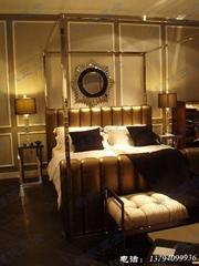 不锈钢酒店客房家具