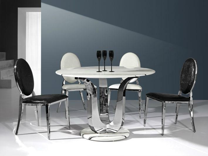 不鏽鋼餐椅 2