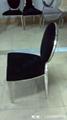 不鏽鋼餐椅 5