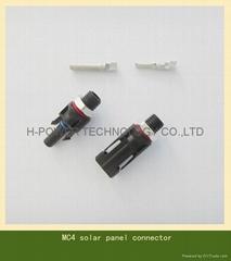 MC4 solar panel connector for solar power system
