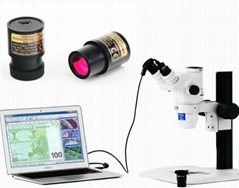 2.0 Mega Pixel USB Live Video Microscope Digital Camera