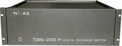 威譜電話交換機TDMx-2000·H