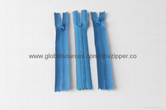 Nylon zipper