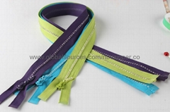 Diamond Waterproof Zippers, OEM Orders are Welcome