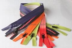 3# Waterproof Nylon Zipper, Printed with Flower, OEM Orders are Welcome