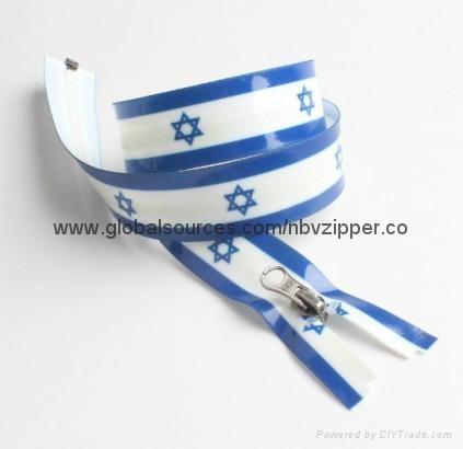 Beautiful design no.3 and no.5 waterproof zipper  3