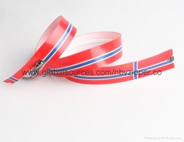 5# Waterproof Printing Zipper, OEM Orders are Welcome 1