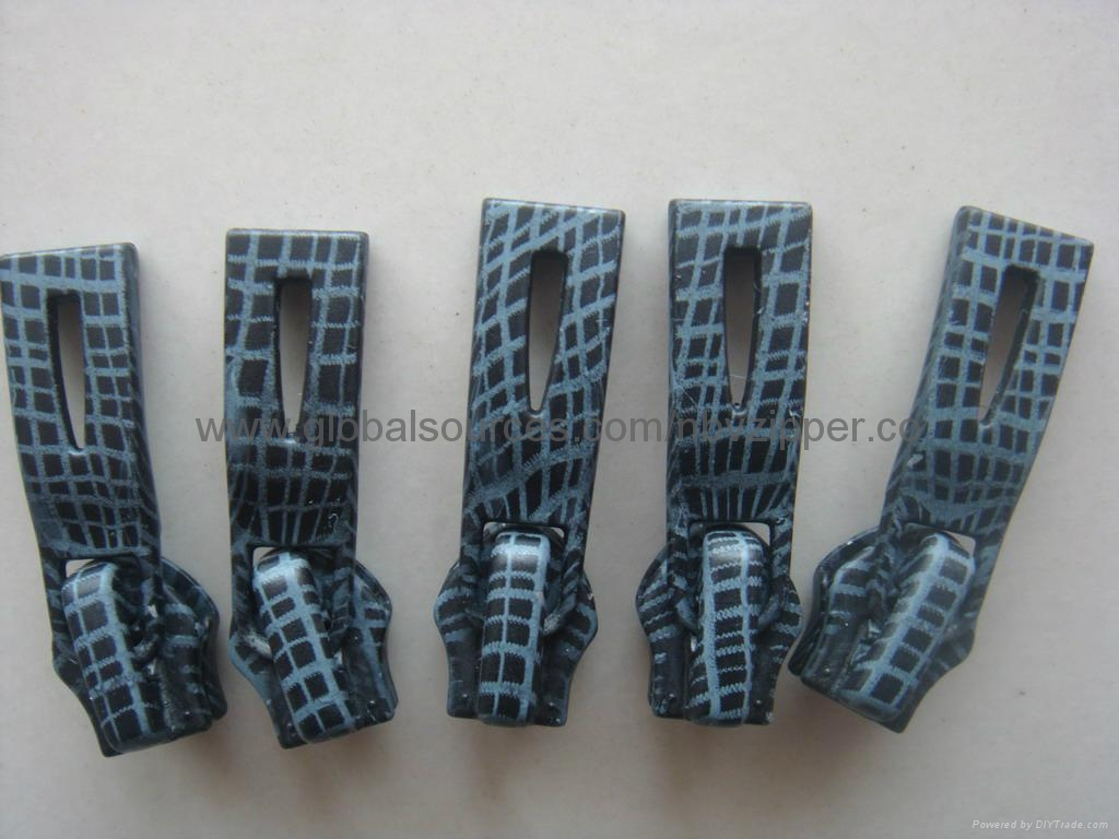 8# Printed Zipper Puller, Made of Alloy 3