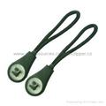custom zipper pullers for garment/shoes/bags 1