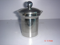 stainless steel filter with teapot