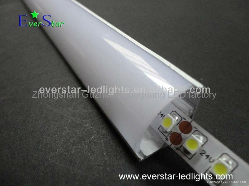 New Led Strip Channel 45 Degree Light Angle 16 2 X 16 2mm