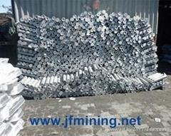 aluminium ingot 99.6%