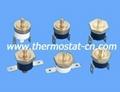 M6 screw copper head thermostat, KSD301