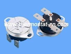KSD302 bipolar thermostat, KSD302 bipolar thermal cutout