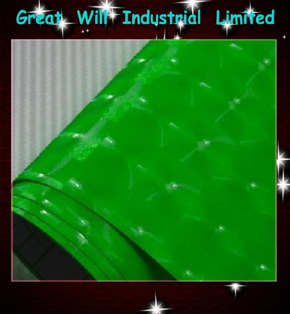 4D green cat eye film with air free size 1.52m*30m hot sell in 2013  1