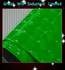 4D green cat eye film with air free size 1.52m*30m hot sell in 2013