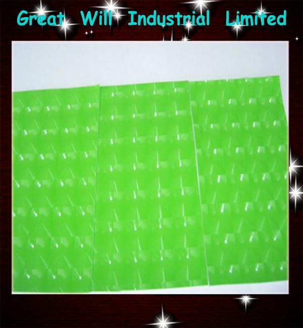 4D green cat eye film with air free size 1.52m*30m hot sell in 2013  2