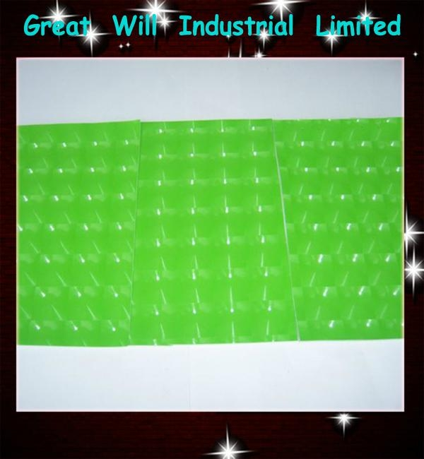 4D green cat eye film with air free size 1.52m*30m hot sell in 2013  3