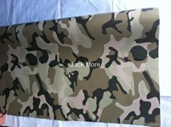 High quality Digital Camouflage Vinyl Car Wrap air bubble