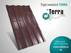 TERRA metal roof tile