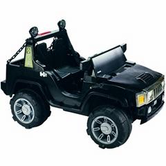 KIDS RIDE ON ELECTRIC CARS BLACK HUMMER