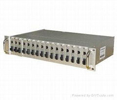 Available 14 Slot Media Converter Chasis