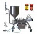 Semi-automatic Chili Sauce Filling