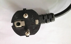 French power cord  Europe line  pipe