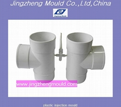 PVC Tee Plastic Pipe Fitting Mould