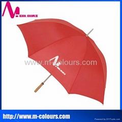 Cheap golf umbrella promotional gift golf umbrella red golf umbrella