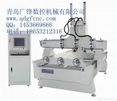 Three-dimensional engraving machine