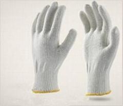 cotton knit glove