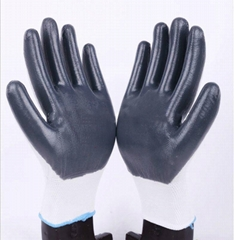 Economic style Nitrile Coated Glove