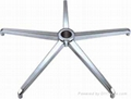 aluminum 5-star chair base,five star chair base,table base,furnture base